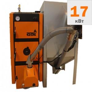 Пеллетный котел GTM Master Pellet 17 кВт