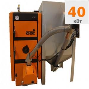 Пеллетный котел GTM Master Pellet 40 кВт