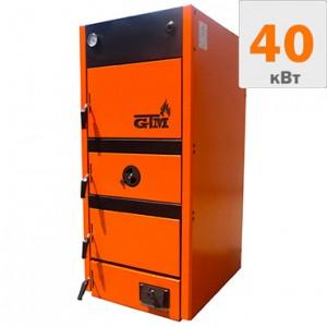 Твердотопливный котел GTM MAX 40 кВт